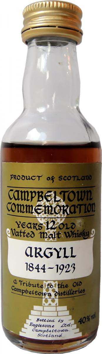 Campbeltown Commemoration Argyll 1844-1923