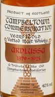 Campbeltown Commemoration Ardlussa 1879-1923