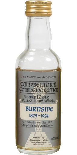 Campbeltown Commemoration Burnside 1825-1924 Es