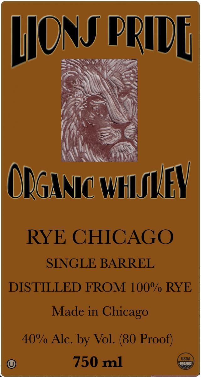 Lion's Pride Rye Chicago