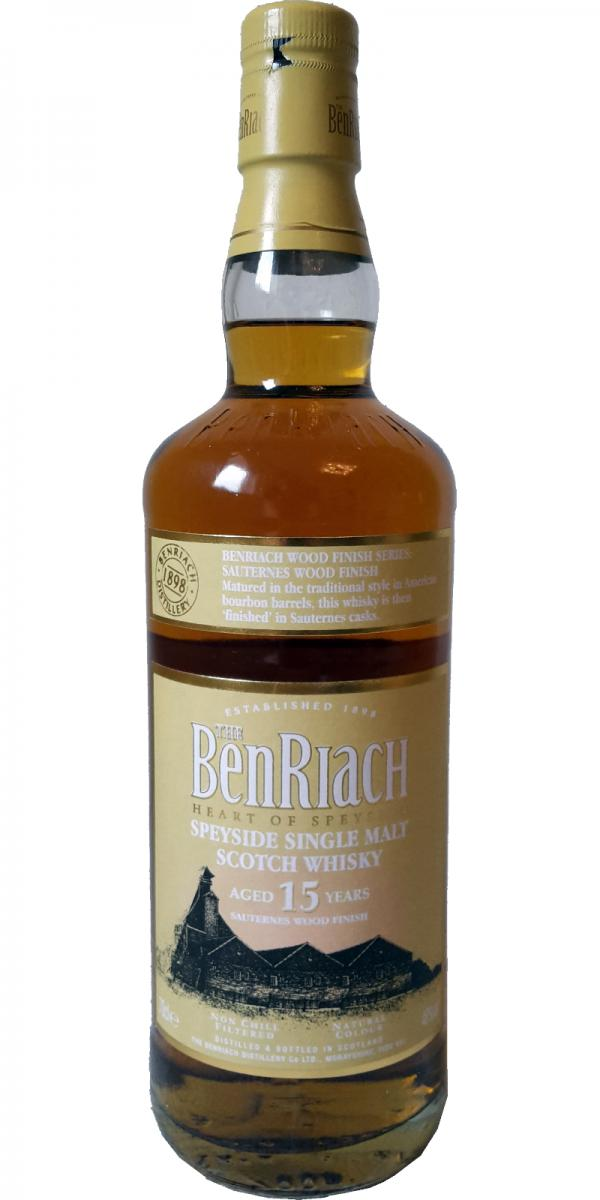 BenRiach 15-year-old Sauternes