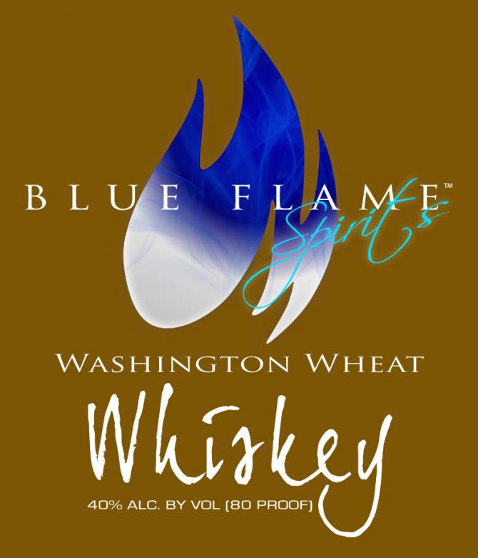 Blue Flame Spirits Washington Wheat Whiskey