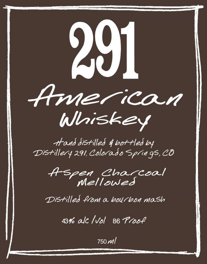 Distillery 291 American Whiskey