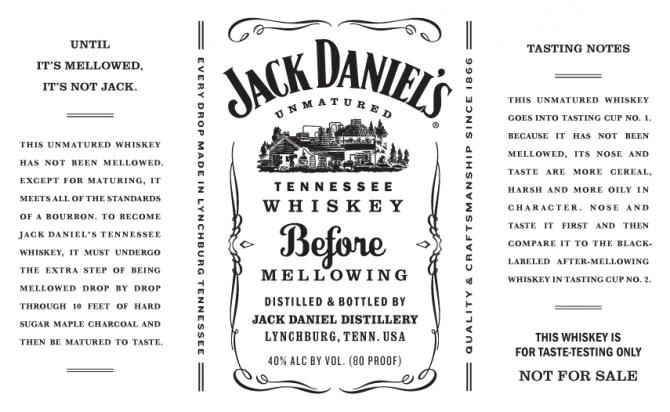 Jack Daniel's Before Mellowing