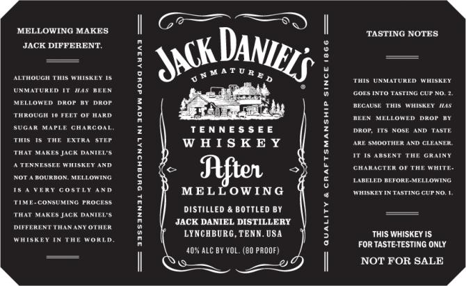 Jack Daniel's After Mellowing