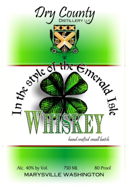 Dry County Distillery In the style of the Emerald Isle