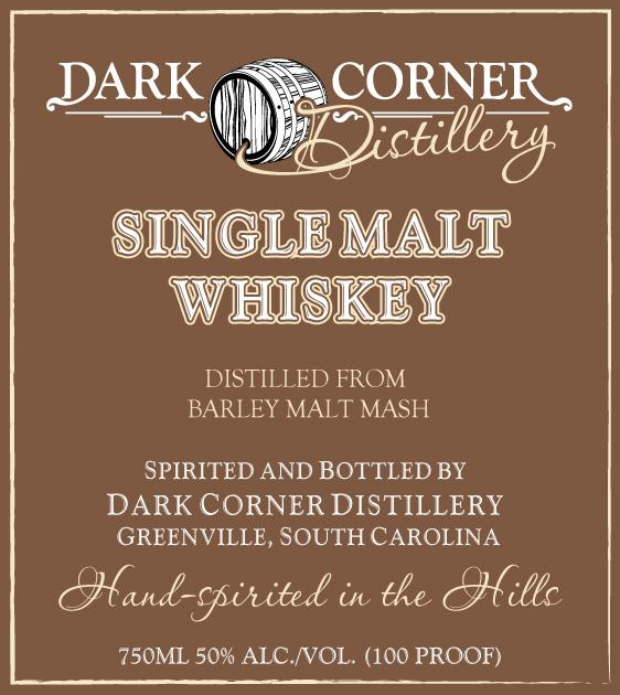 Dark Corner Singlemalt Whiskey