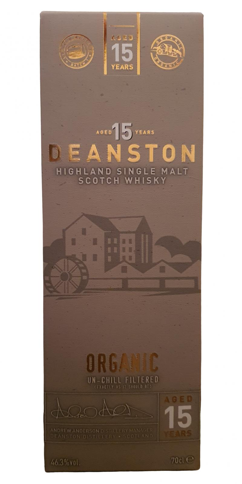 Deanston 15-year-old