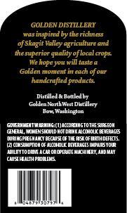 Golden Distillery Samish Bay Whiskey