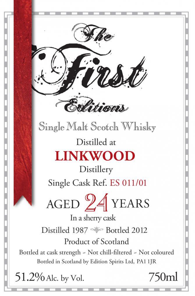 Linkwood 1987 ED