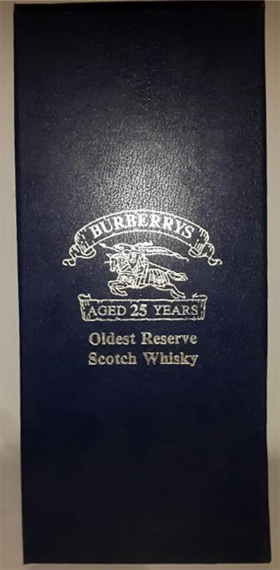 Burberrys' 25-year-old