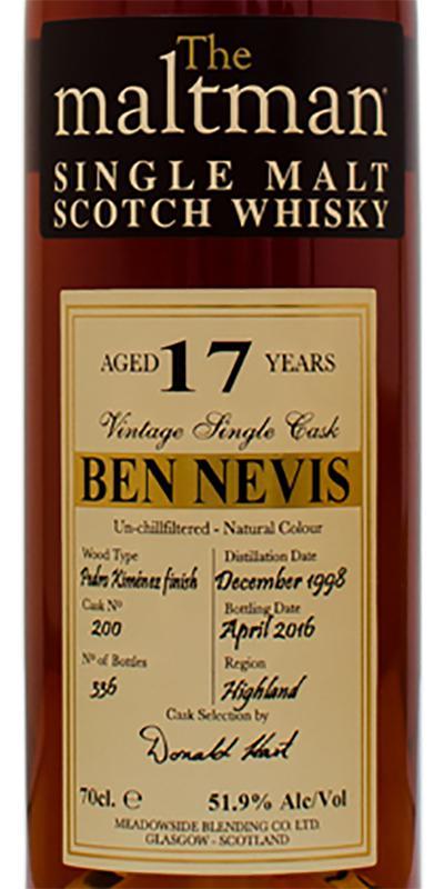 Ben Nevis 1998 MBl