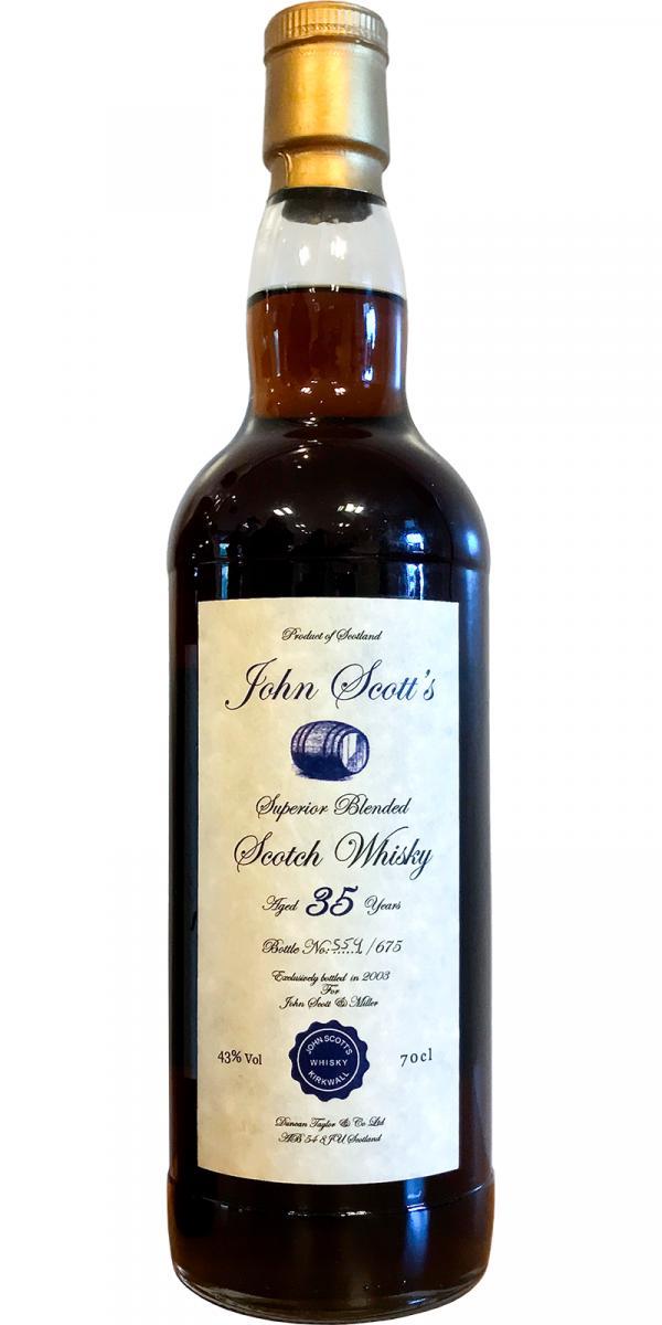 John Scott's Superior Blended Scotch Whisky