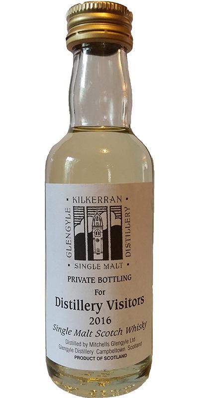 Kilkerran Distillery Visitors 2016