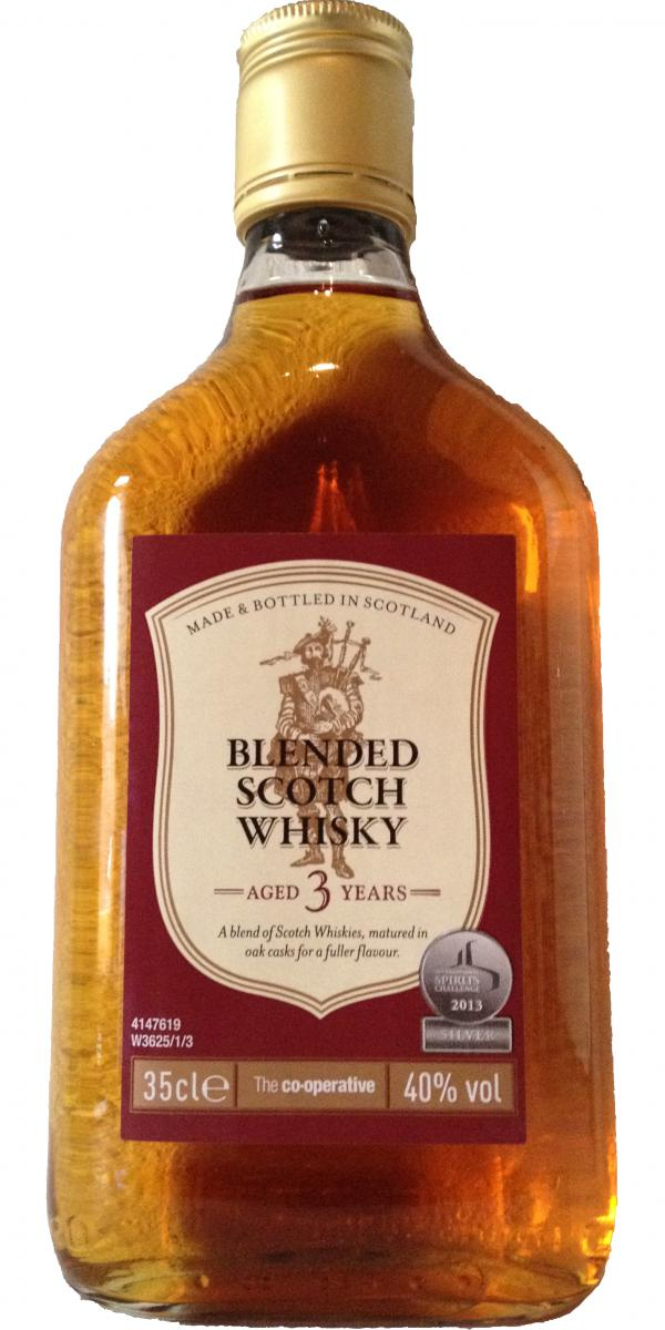 Blended Scotch Whisky 03-year-old