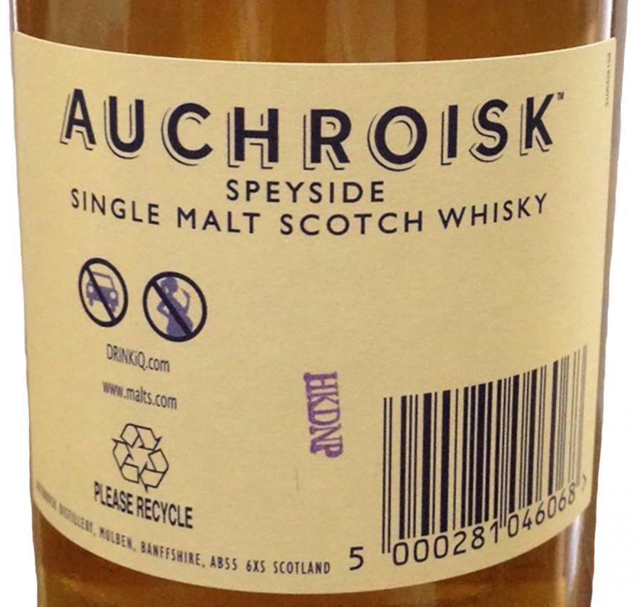 Auchroisk 25-year-old