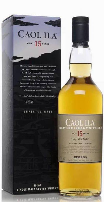 Caol Ila 15-year-old - Unpeated Style
