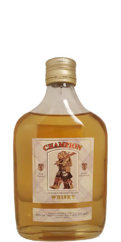 Champion Fine Old Original Blend Whisky