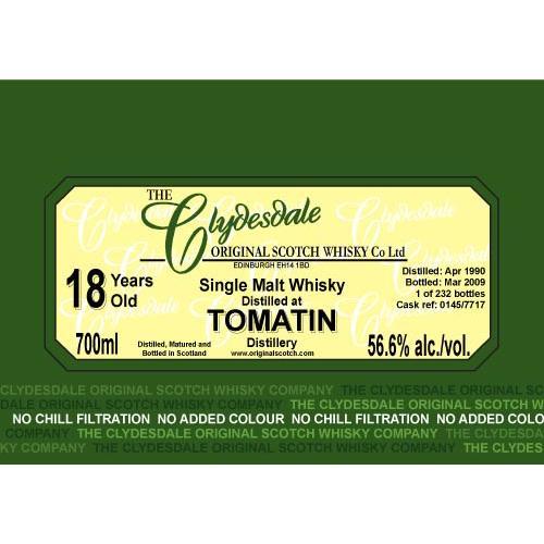 Tomatin 1990 TCO