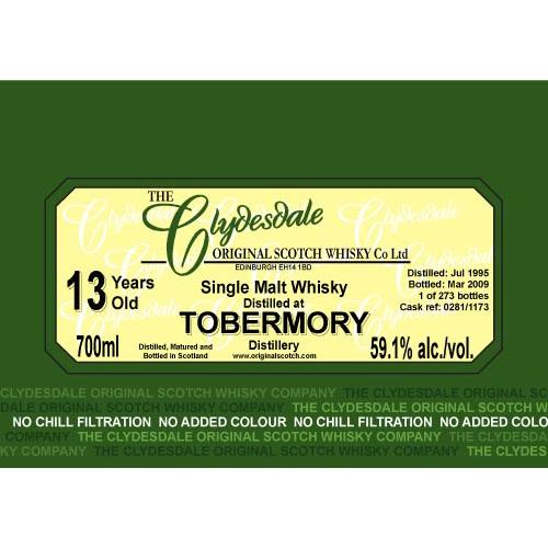 Tobermory 1995 TCO
