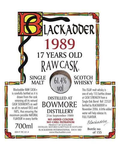 Bowmore 1989 BA