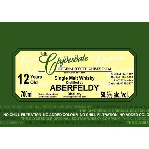 Aberfeldy 1997 TCO