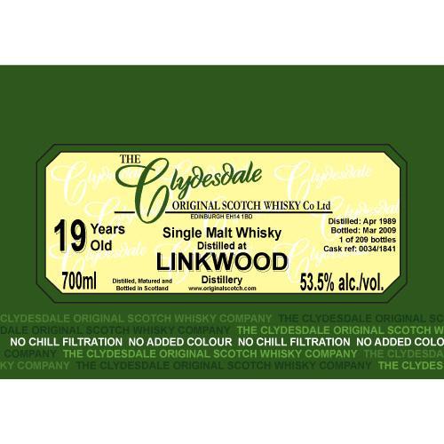 Linkwood 1989 TCO