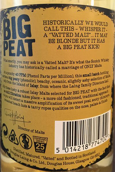 Big Peat The Diplomat's Edition DL