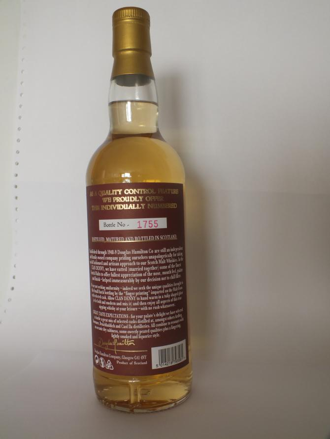 Clan Denny Blended Malt - Heavily Peated DH