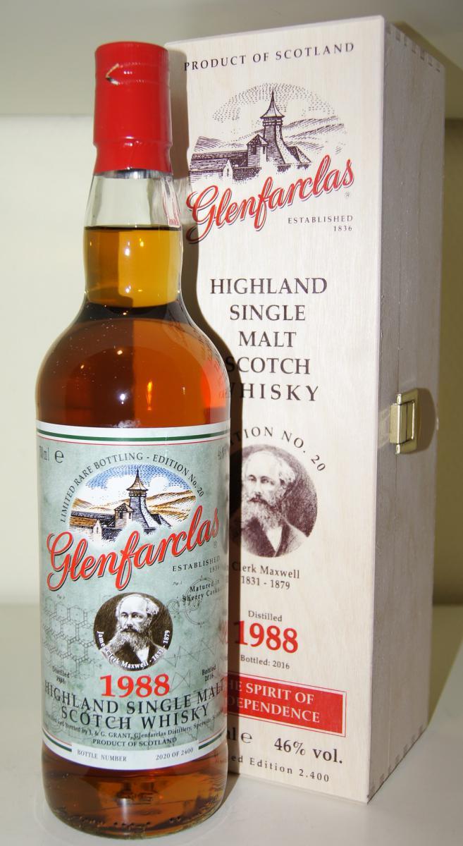 Glenfarclas 1988 Edition N°20