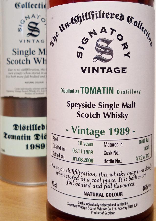Tomatin 1989 SV