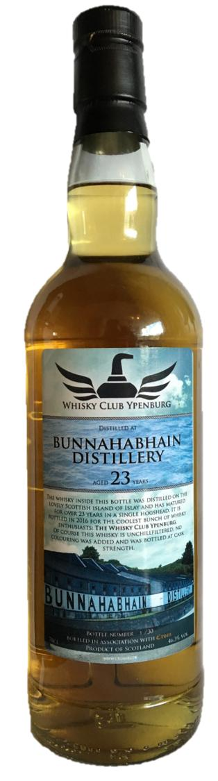 Bunnahabhain 23-year-old Whisky Club Ypenburg