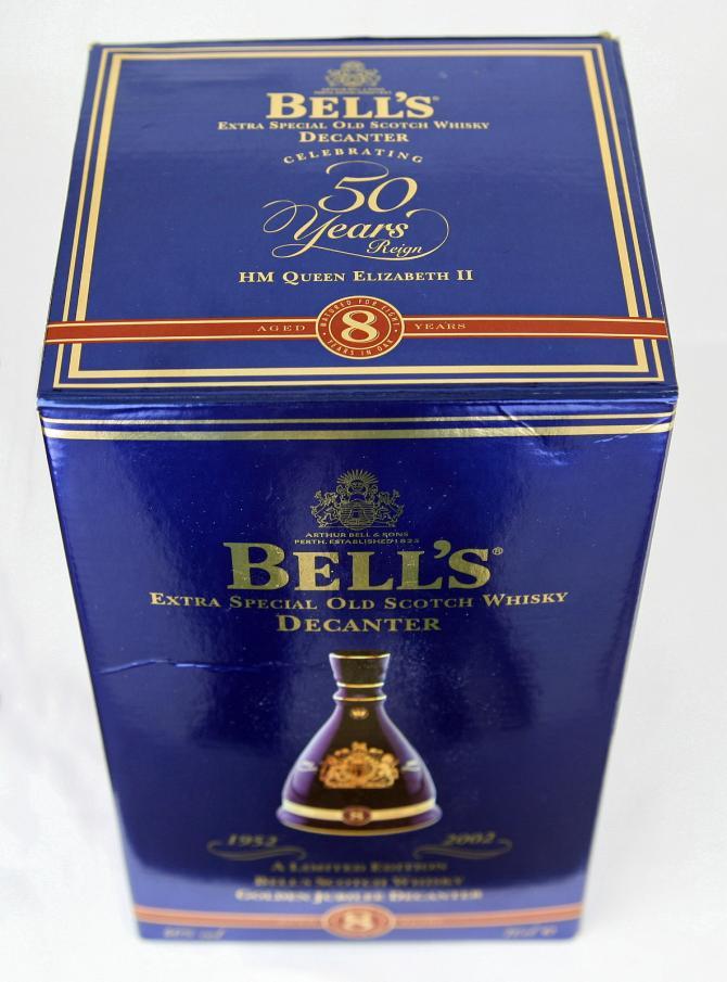 Bell's Celebrating 50 Years Reign HM Queen Elizabeth II