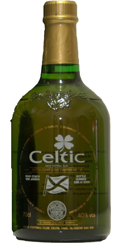 Celtic Scottish Premier League Champions 1997-98