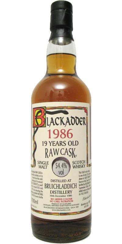 Bruichladdich 1986 BA