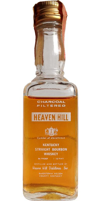 Heaven Hill Charcoal Filtered