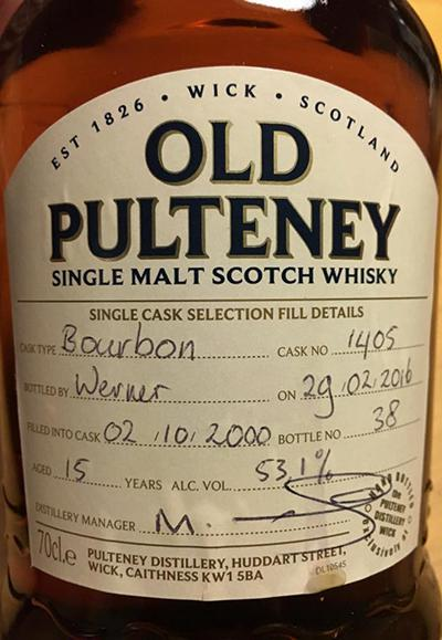 Old Pulteney 2000
