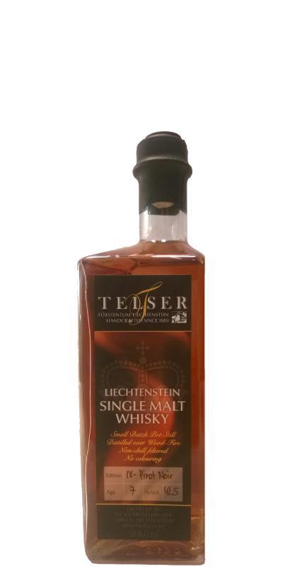 Telser Liechtenstein Whisky IX