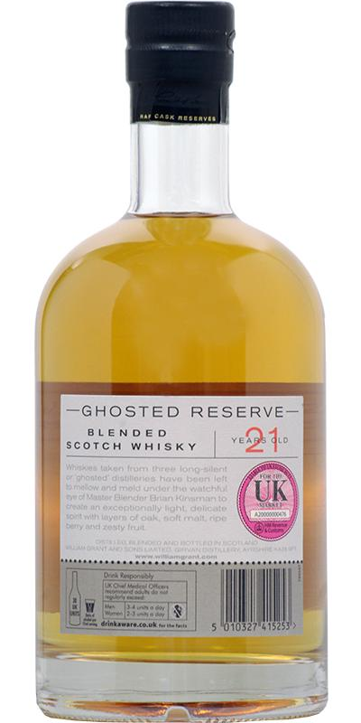 William Grant & Sons Limited Ghosted Reserve
