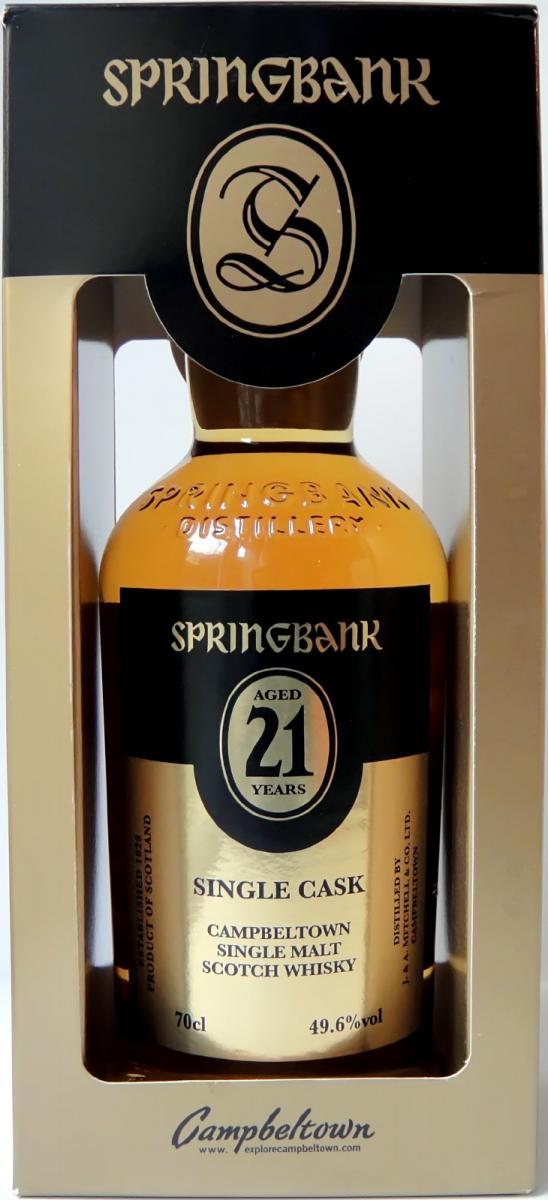 Springbank 21-year-old