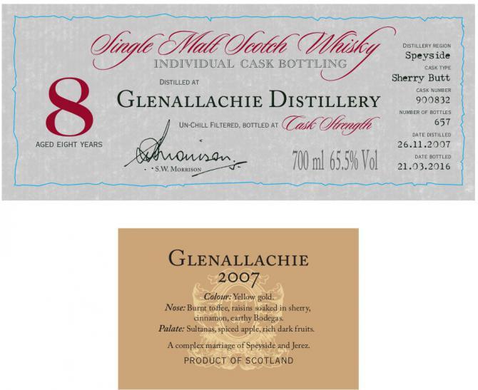Glenallachie 2007 DR