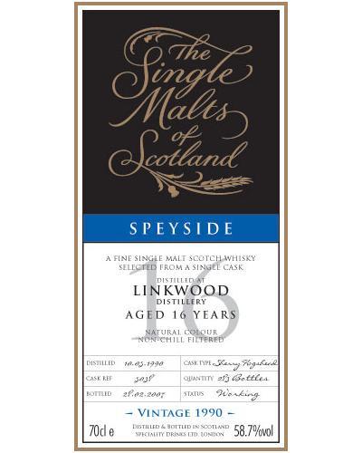 Linkwood 1990 SMS