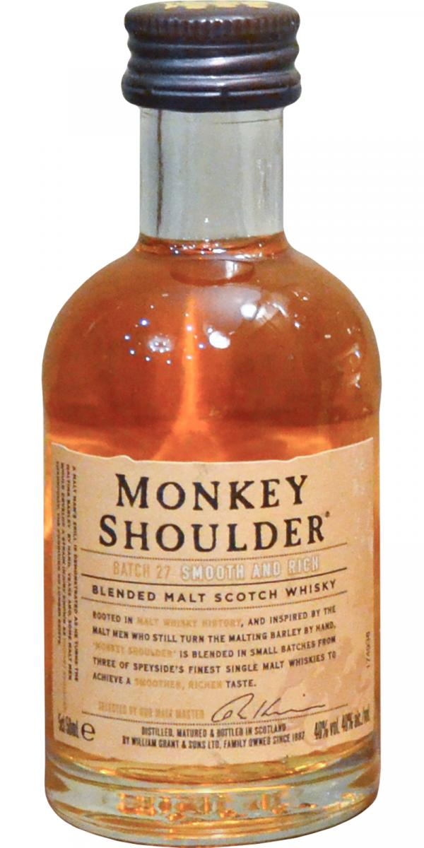 Monkey Shoulder Batch 27 - Smooth And Rich