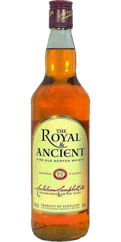 The Royal & Ancient Fine Old Scotch Whisky