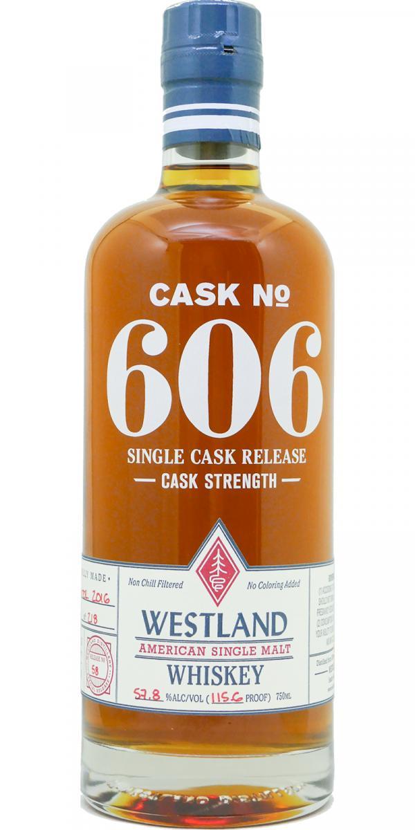 Westland Cask No. 606