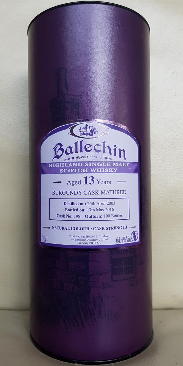 Ballechin 2003