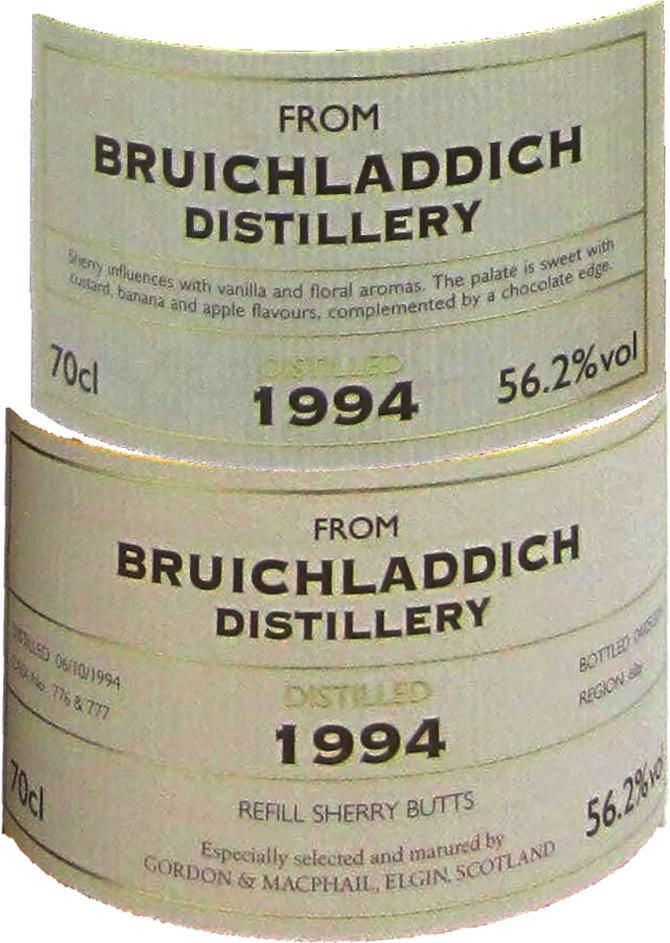 Bruichladdich 1994 GM