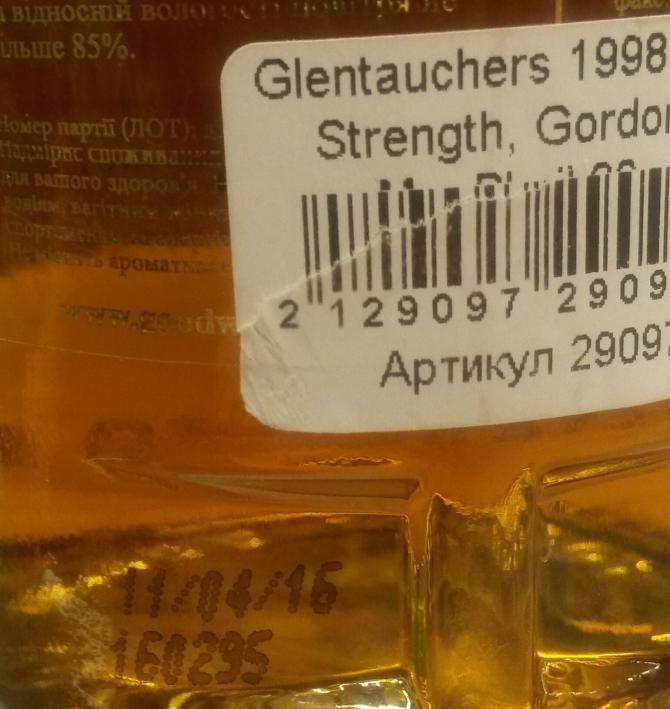 Glentauchers 1998 GM