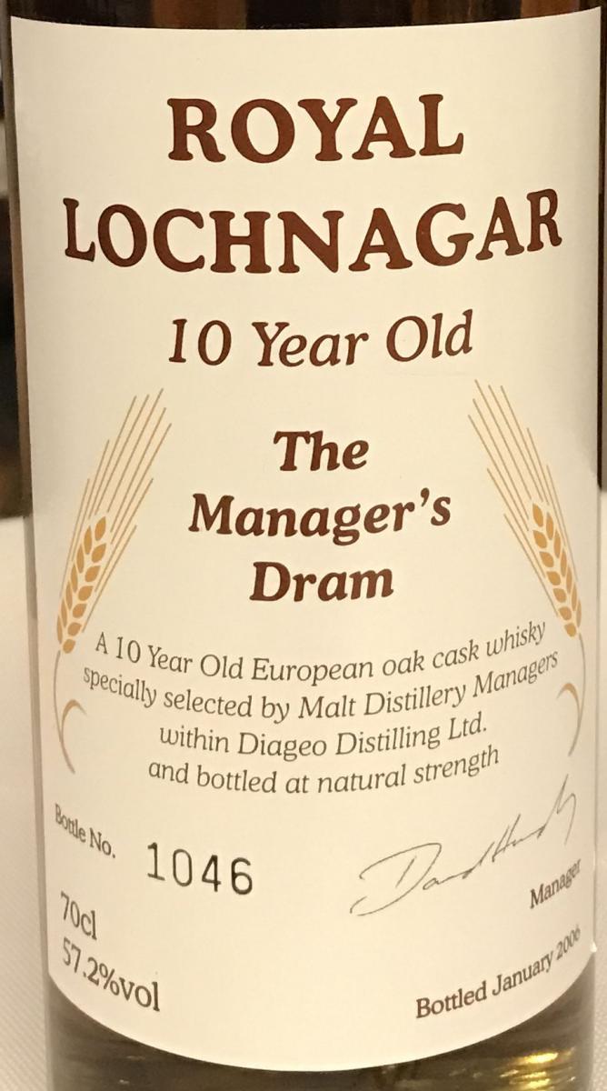 Royal Lochnagar 10-year-old