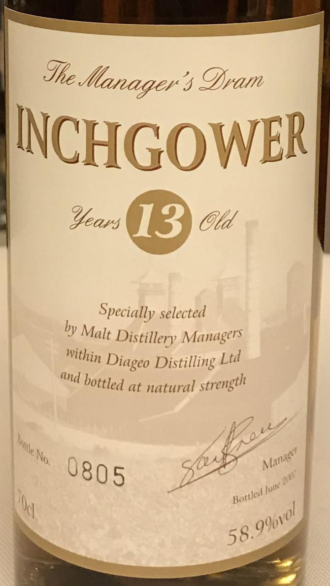 Inchgower 13-year-old